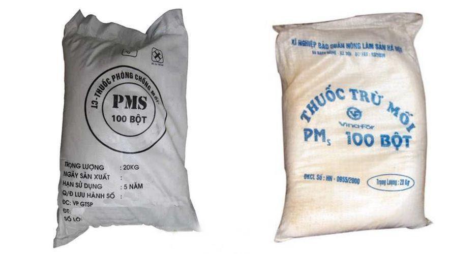 thuốc diệt mối PMs 100 bột
