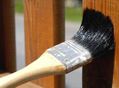 cách diệt mọt gỗ bằng dầu