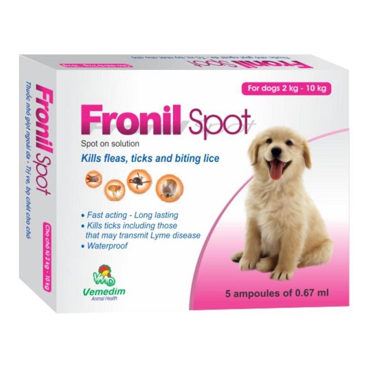 Thuốc diệt bọ chét hiệu quả an toàn nhất Fronil-Spot - Diệt côn trùng TPHCM