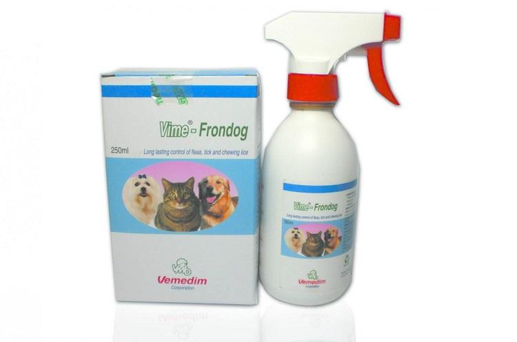 Thuốc diệt bọ chét hiệu quả an toàn nhất Vemedim-Frondog - Diệt côn trùng TPHCM
