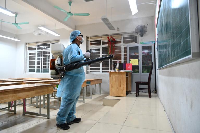 Dịch vụ phun thuốc khử trùng Corona