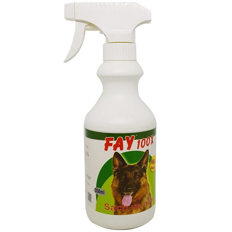 Thuốc diệt ve chó Fay 100X