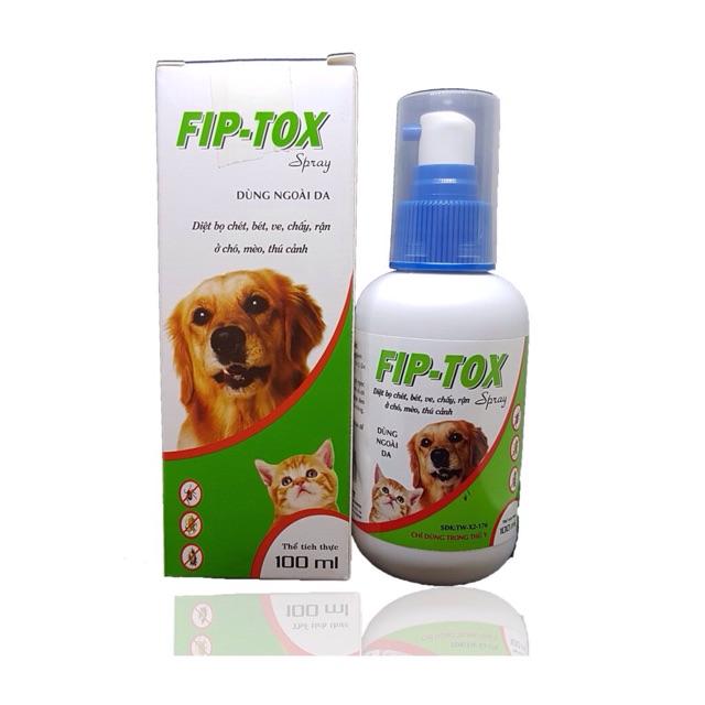 thuốc diệt ve chó Fip-tox