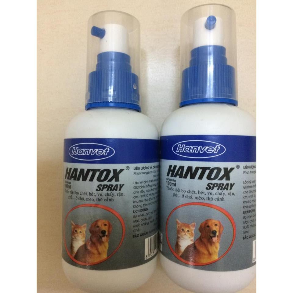 thuốc hantox spray