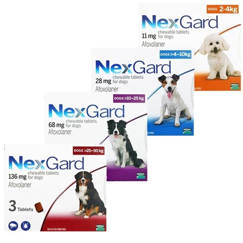 Thuốc diệt ve chó Nexgard