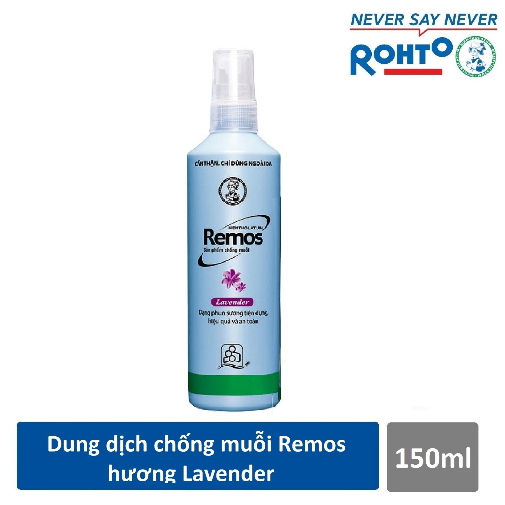 Bình xịt muỗi Remos tốt, an toàn và không độc hại